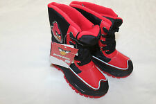 Boy Black&Red Winter Shoes Snow Boots M&S size 11 Angry Birds BRAND NEW WITH TAG