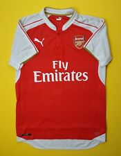 31de6ad7767 5 5 Arsenal soccer jersey SMALL 2015 2016 home shirt football Puma
