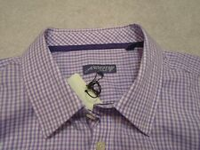 Jeremy Argyle of NYC Long Sleeve Lavender Mini-Check Sport Shirt NWT XL $148
