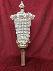 RARE Ancienne lampe /applique /luminaire /Art Déco / pâte de verre-verre soufflé