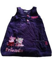 Mothercare Peppa Pig Girls Dungaree Dress 2-3 Years