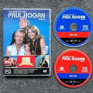 The Best Of The Paul Hogan Show DVD Channel 9 TV Rare OOP 2 Disk Set