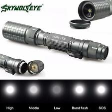 Zoomable 4000LM 5Modes Taschenlampen CREE XML T6 LED Torch Lamp 18650&Ladegerät