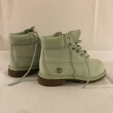timberland waterproof boots Girls, Color Green