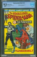 AMAZING SPIDER-MAN 129 FEBRUARY 1974 CBCS 9.2 NEAR MINT- WHITE PAGES ITEM: G-11