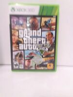 Grand Theft Auto V (Microsoft Xbox 360, 2013)  Game and Case Tested Fast Ship