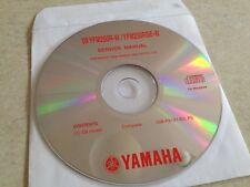 Yamaha YFM250R-W YFM250RSE-W 2009 Workshop Service manual manuel atelier  CD pdf