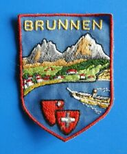 "#2616# PATCH BARETTE ECUSSON SUISSE ""BRUNNEN"""