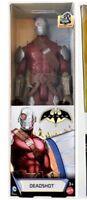 "DC Batman Unlimited Mechs Deadshot 12"" Inch Figure Highly Posable Figure NIB"