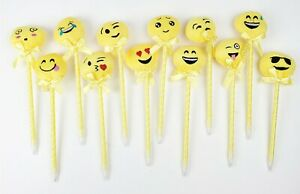 12 PCS Assorted  Emoji Ballpoint Pen - US Ship