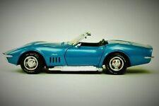 Car 1970 Corvette Chevy Chevrolet Sport Race Vintage 1 18 Metal 24 Racer 12 f gp