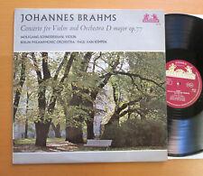 89 519 Brahms Violin Concerto Wolfgang Schneiderhan 1965 NM/EX Heliodor STEREO