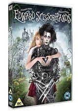 EDWARD SCISSORHANDS 25TH ANNIVERSARY EDITION  NEW SEALED GENUINE UK DVD
