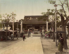 Photo Albuminé Kobe Japon Japan Vers 1880