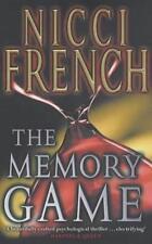 NICCI FRENCH____THE MEMORY GAME ____ BRAND NEW ____ FREEPOST UK