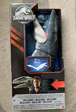 Jurassic World Super Colossal Mosasaurus Real Feel Skin! Water Toy Dinosaur NEW!
