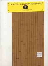 Flooring Sheet - WC431H Formica - Cherry 90 sq.in.  miniature 1:12 scale USA