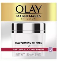 Olay Magnemasks Infusion Rejuvenating Jar Mask 4.5 oz. for Fine Lines New Sealed
