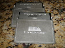 """The Bard's Tale II: The Destiny Knight (PC, 1988) 5.25"""" floppy disks"""