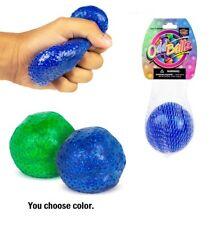 (1) Glitter Bead Morph Stress Ball for Kids Tactile Sensory Fidget Toy