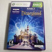 Kinect Disneyland Adventures (Microsoft Xbox 360, 2011) Video Game Free Shipping