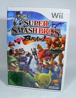 SUPER SMASH BROS BRAWL für Nintendo Wii NEU in Folie EU-Version brothers ssbb