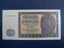 1955 DDR/GDR East German  20 Mark Bank Note-UNC Cond.17-356