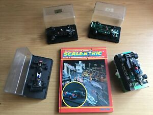 Model Lotus f1 racing cars Scalextric and MRRC and book
