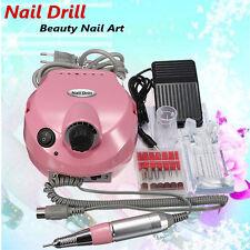 Professional Electric Art Nail Polisher File Drill Manicure Pedicure Machine