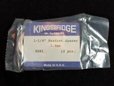 Kingsbridge Headset Spacer Shim 1-1/4 Alloy 1.5 mm Pack of 10 Vintage
