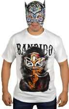 Talivision A140 Bandido Crash-ROH-Indy Wrestling Lucha Libre T-shirt