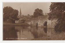 Bakewell Bridge, Judges 9270 Postcard, A955