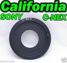 C Mount Lens to Sony Camera NEX E NEXE Adapter Ring NEX-3 NEX-5 VG20 C3 5C 5N 5R