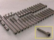 Yamaha XJR400 Engine Cases 41pc Stainless Steel Allen Bolts Socket Capscrew kit