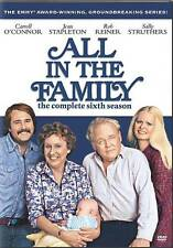 ALL IN THE FAMILY Season 6 (DVD, 2007, FS, 3-Disc Set)  BRAND NEW