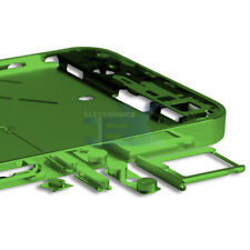 Mirror/Chrome Green Midplate Midframe Mid Frame Bezel Chassis For iPhone 4/4G