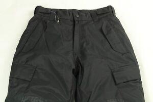 Boy's Ski Black Pants Snowboarding Insulated Size L (10/12)