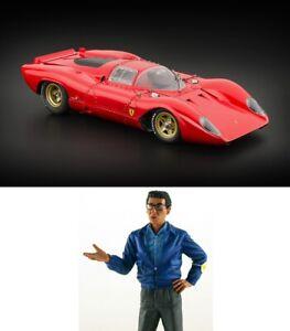 ✨👍  CMC 1:18 Ferrari 312P Berlinetta 1969 + Ferrari CAR Designer Figure N exoto