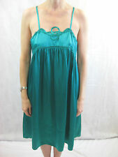 See By Chloé Size 12 Emerald Green Silk Evening Dress