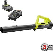 Ryobi Cordless Leaf Blower 90Mph 200Cfm 18V - Li-Ion Battery / Charger Included