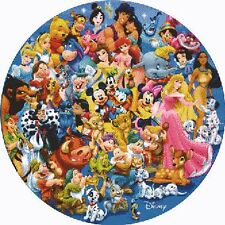 Disney Inspired Circle Of Friends Cross Stitch Kit