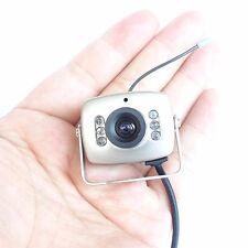 2.4G wireless night vision CCTV audio IR mini camera security SPY CAMERA