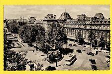 cpsm FRANCE 75 - PARIS Place de la REPUBLIQUE en 1957 Magasins reunis Car Autos