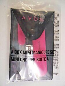 AVON Manicure Set + Pouch NEW