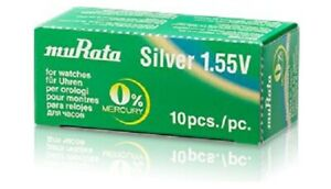 SONY/MURATA 364 SILVER OXIDE WATCH BATTERY - INDIVIDUALLY PACKED - Qty 1-10