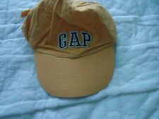 Child's size Medium Yellow Ball Cap with GAP in Blue and White Embroidery