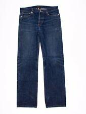Mens APC Hipster Straight Fit Raw Denim Jeans Size 29 x 32
