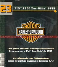 HARLEY DAVIDSON FLH 1200 Duo Glide 1958 ; Les Années 60 HD AMF MOTO