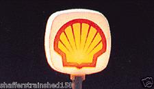 Model Power # 704 Gas Station Signs pkg(2)  Shell HO Scale MIB