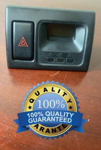 ✅ 1998-2002 Honda Accord OEM Dash Clock W/ Hazard Switch